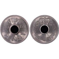 1968 Penny Fiji PCGS MS66