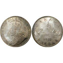1936 Canada $1 PCGS MS65