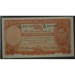 George VI Ten Shillings , Coombs Wilson GVF