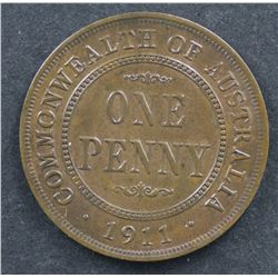 1911 Penny Uncirculated