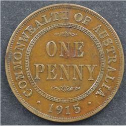1915 Penny Good VF