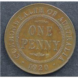 1920 Dot Below Penny EF