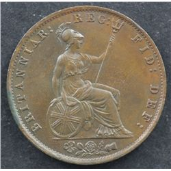 GB 1854 Halfpenny Choice Unc