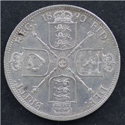 GB Florin 1890 Extremely Fine