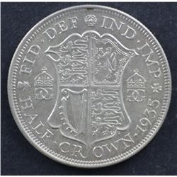 GB ½ Crown 1935 Uncirculated