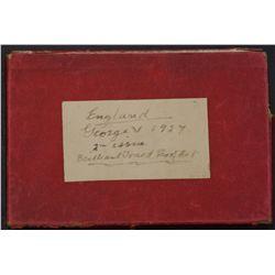 GB 1927 Proof Set Box