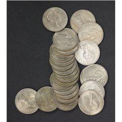 GB 1967 ½ Crowns BU 25 Coins