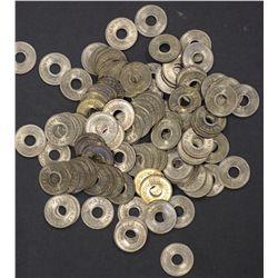 Fiji 1954 Halfpennies, Gem Uncirculated ,100 coins