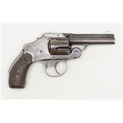 "Smith & Wesson Safety Hammerless Second Model DA  revolver, .38 cal., 3-1/4"" barrel, blue finish,  c"