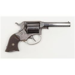 "Remington-Ryder Pocket Conversion DA revolver, .32  cal., 3"" octagon barrel, blue finish, checkered"