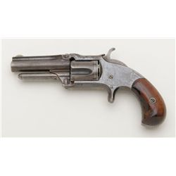 Scarce Smith & Wesson Model 1 ½ New Model .32  caliber rimfire revolver with factory shorter than  s
