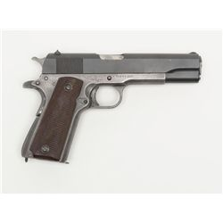 United States Property marked Model 1911-A1  semi-auto pistol with Union Switch and Signal Co.  slid