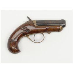 Gooch, Winona, Miss.-marked single shot derringer  (before the Williamson deringer), .41 cal., 2-1/2