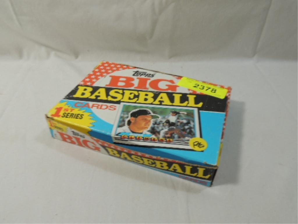 Topps Big Baseball Cards 1st Series 1989