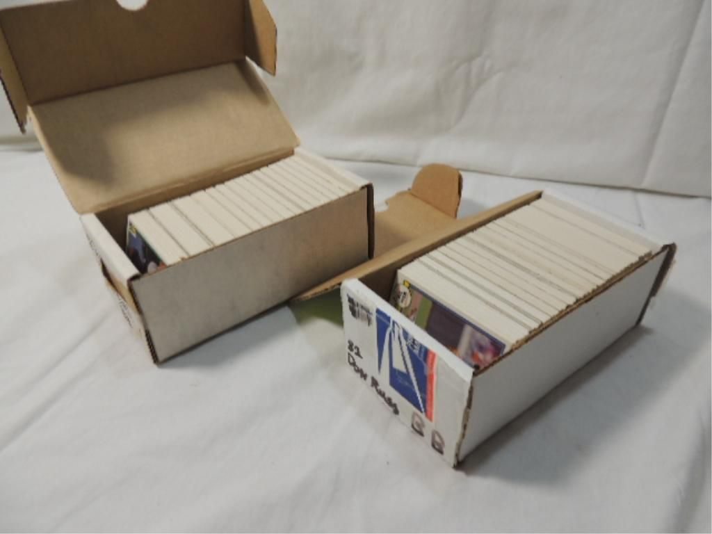 Lot 2 Box Baseball Cards 1982 Don Ross