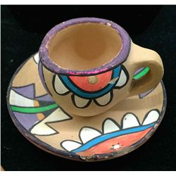 Cup and Saucer Pottery