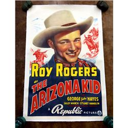 1939 Roy Rogers Poster