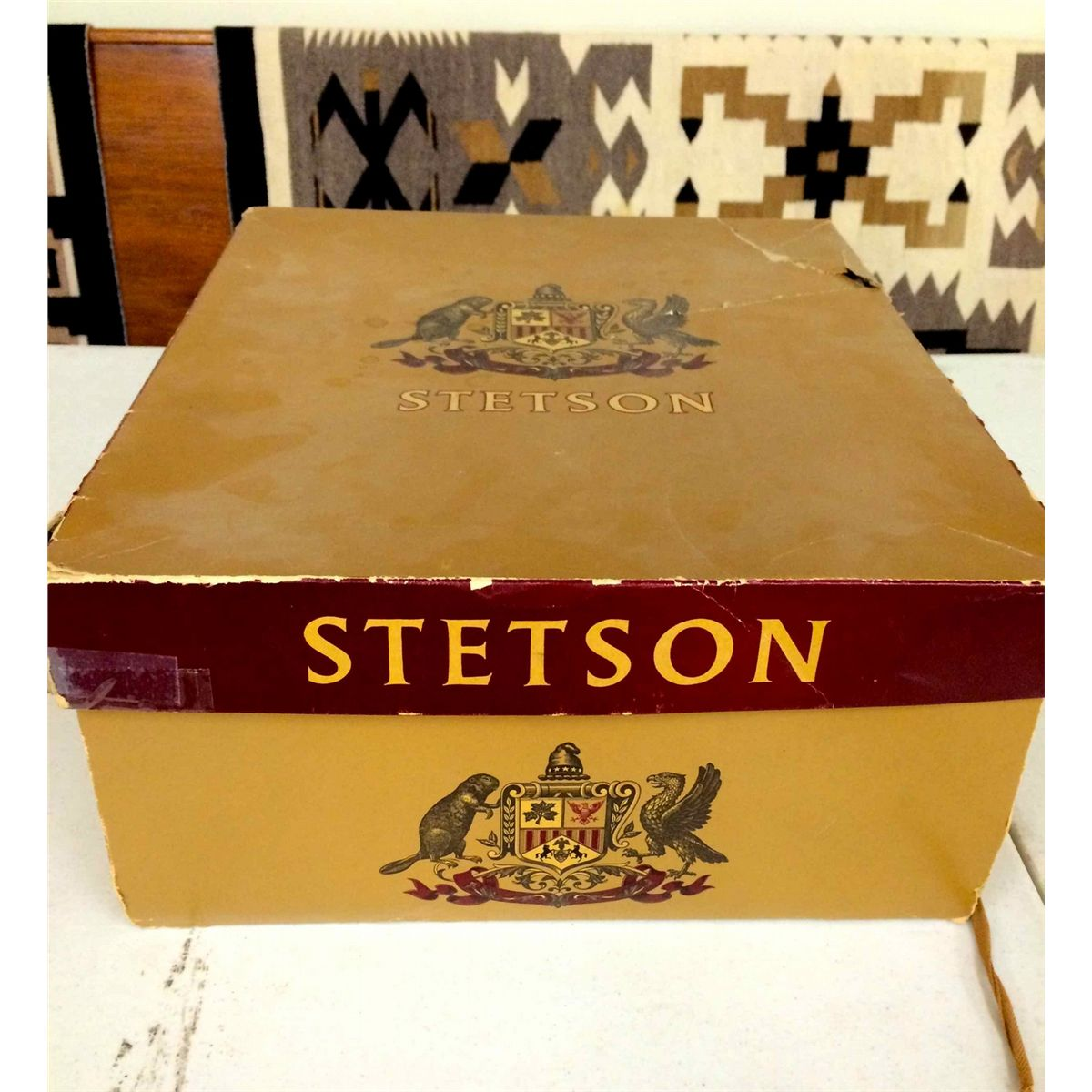 72d4cd6aeb1836 Vintage Stetson Hat with Box