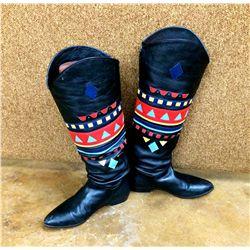 Vintage Western Dancing Boots