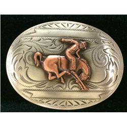 Western Cowboy Belt Buckle
