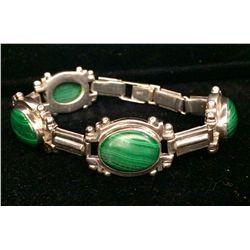 """Malachite """"Link"""" Bracelet"""