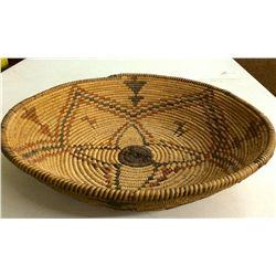 Polychrome Apache basket