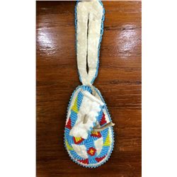 Child's Moccasin Wallhanging