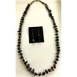 Hematite Necklace Set