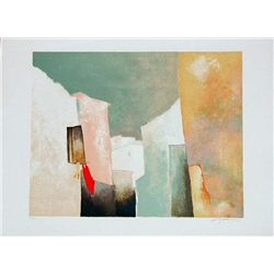 Claude Gaveau, Open Window, Signed Litho