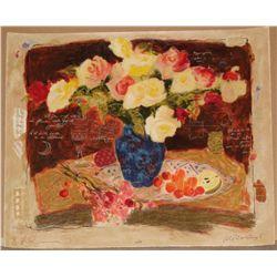 Alexander Wissotsky, Spring Flowers III, Signed SS