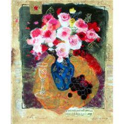 Alexander Wissotsky, Evening Bouquet, Signed SS