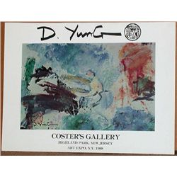 Dorothy Yung, 1988 Art Expo Poster