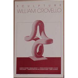 William Crovello, 1984 Pueblo Exhibition Poster