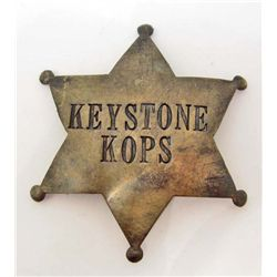KEYSTONE KOPS POLICE LAW ENFORCEMENT BADGE