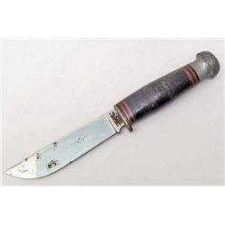 VINTAGE JOHN PRIMBLE FIXED BLADE HUNTING KNIFE C-64