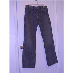 "Daniel Craig ""Dream House"" Screen Worn Gray Levi 501 Jeans"