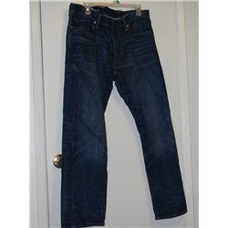 """Daniel Craig """"Dream House"""" Screen Worn 1969 Blue Jeans"""