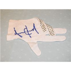 Michael Jackson Signed Sparkle Covered Glove