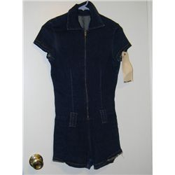 """Lucy Liu """"Charlie's Angels"""" Screen Worn Denim Short Outfit"""