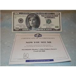 Isla Fisher  Now You See Me  Prop Money