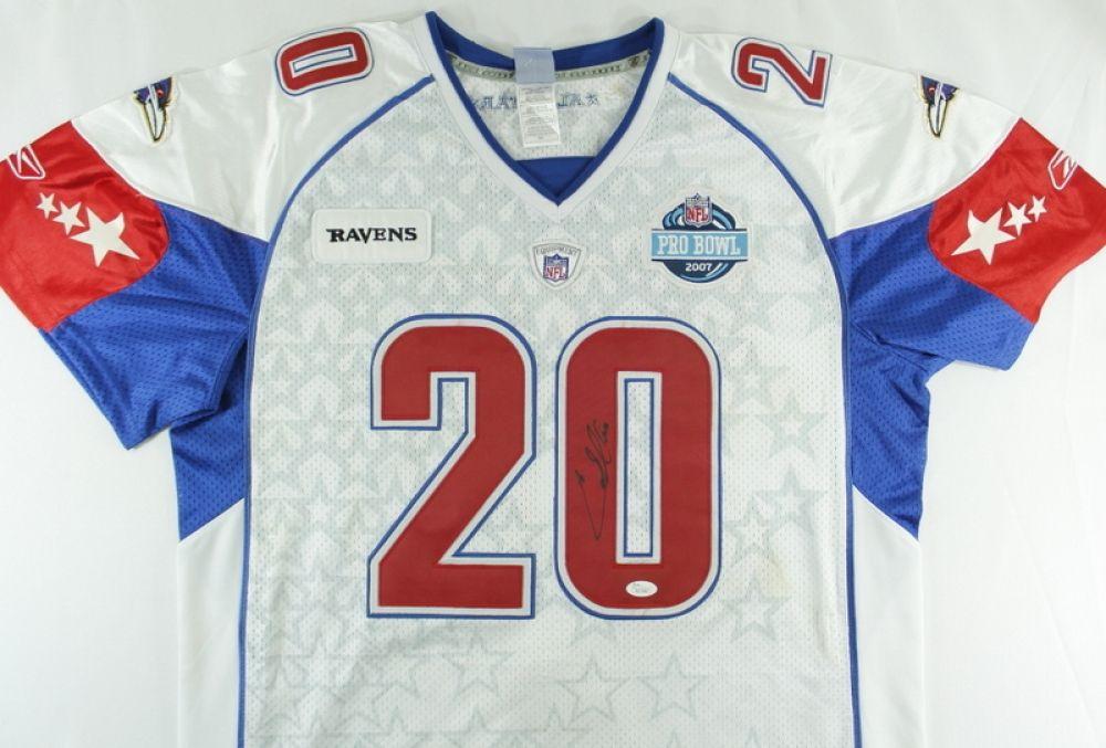 huge discount fe27b ec955 Ed Reed Signed Pro Bowl Jersey (JSA COA)