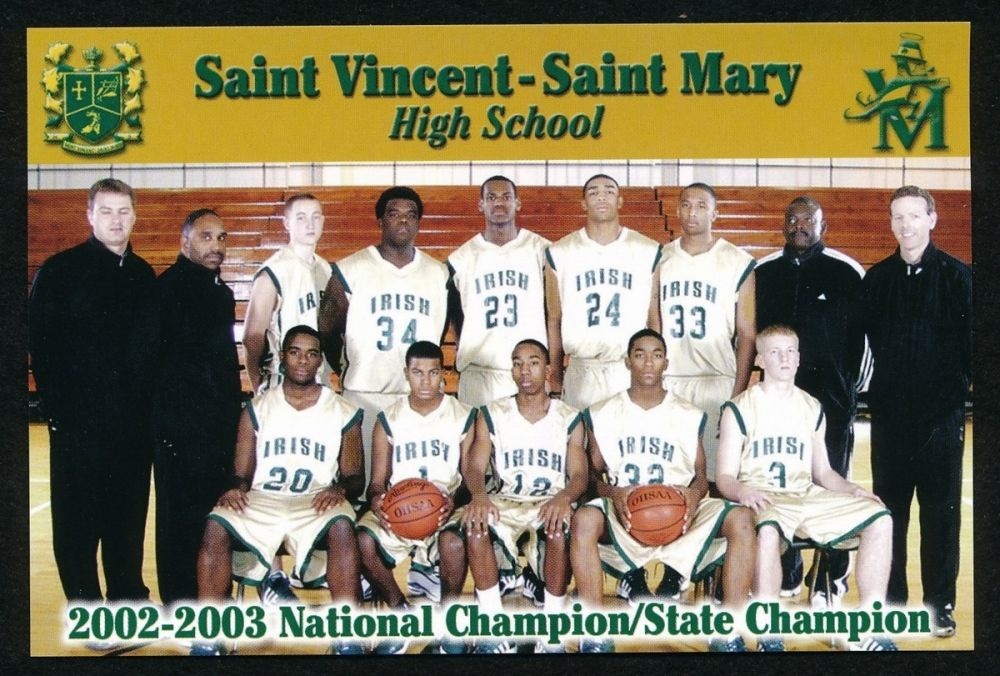 new concept 94540 3d721 Lebron James Saint Vincent-Saint Mary High School ...