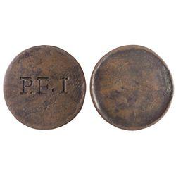 McCausland Penny token PE-2.