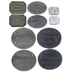Communion token lot.