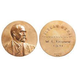 Coleman Medal,