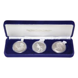 1991. Elvis Commemorative Medallion Set.