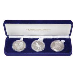 1991. Elvis Commemorative Medallion Set.