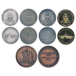 Numismatic Medals.