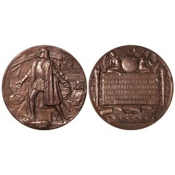Columbian Exposition medal. 1892.
