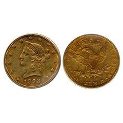 U.S. $10.00 gold.